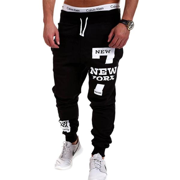 Mens Joggers 2017 Brand Male Trousers Men Pants Casual Pants Sweatpants Jogger Black Large Size 4XL KDBB