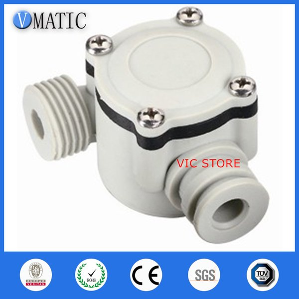 New Water Flow Sensor Switch Meter Flowmeter Hall Flow Counter Sensor Water Control Free Shipping Water Flow Sensors VCA368