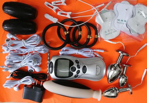 Vagina Juegos Sexuales Dildo Productos Plug Pad Electro Compre Gear Bondage Electrodos Kit 2017electroshock Bdsm Anal Para Placer Adultos Shock LSMqUjVGpz