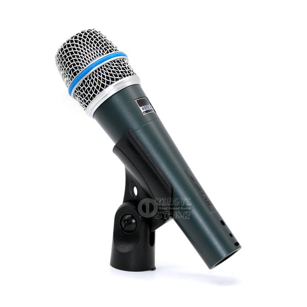 Free Shipping BETA57A Wired Super Cardioid Karaoke Microphone Dynamic Mic For BETA 57A Mixer Audio Stage Singer Sing Handheld Mike Microfone