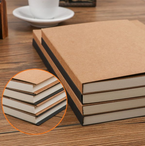 112 Pages Of Kraft Paper Thickening Cover Planning Notepad Diary Practice Composition Binding Notes Notepad Gift Stationery