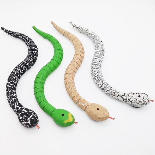 Nouveau Drôle Gadgets Jouets Nouveauté Surprise Blagues Pratiques Machine RC Télécommande Serpent Et Intéressant Oeuf Radio Contrôle Jouets