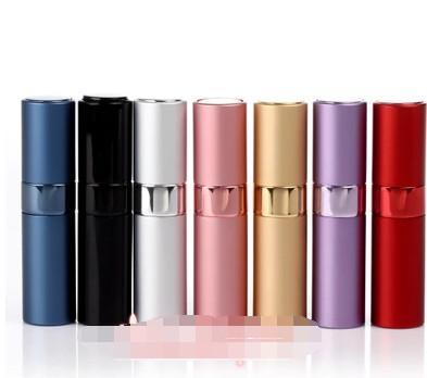 Bottiglia ricaricabile dell'ugello di alluminio dell'ugello di alluminio del boccaglio di alluminio della bottiglia del boccale del profumo di 8ml Bottiglie riutilizzabili vuote