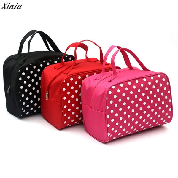 Wholesale- 2017 New Fashion Women Cosmetic Bags Portable Entrancing Multifunction Travel Cosmetic Bag Makeup Toiletry Case Pouch