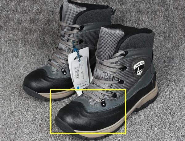 Großhandel LUHTA Männer Schneeschuhe Herren Outdoor Wasserdicht Anti Rutsch Absorption Wanderschuhe Herren Stiefel Winter Schweißabsorption Schuhe Für