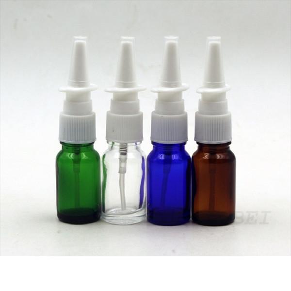 Bouteille nasale de jet de l'ANIMAL FAMILIER pharmaceutique 10ml, emballage en verre de récipient de bouteille d'émulsion, couleurs WA2435 de l'échantillon 4