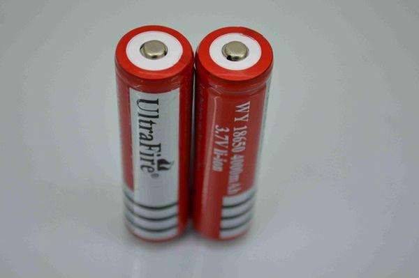 18650 Batteria al litio ricaricabile agli ioni di litio 4000mAh per la torcia elettronica della batteria della torcia della macchina fotografica del LED elettronico Bici elettronica