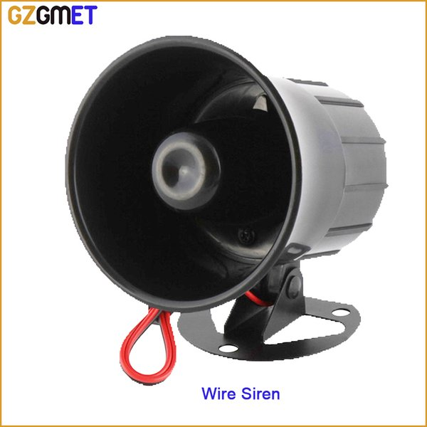 110dB Wired Siren Horn Alarm Security Protection System accessories for home office factory bank security alarm speaker