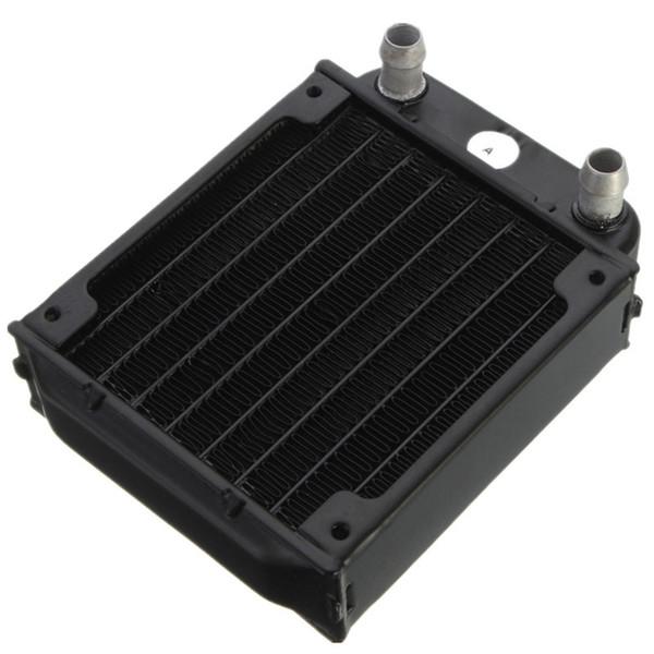 Wholesale- 80mm Aluminum Computer Radiator Water Cooling Cooler For Computer Chip CPU GPU VGA RAM Heatsink Heat Exchanger
