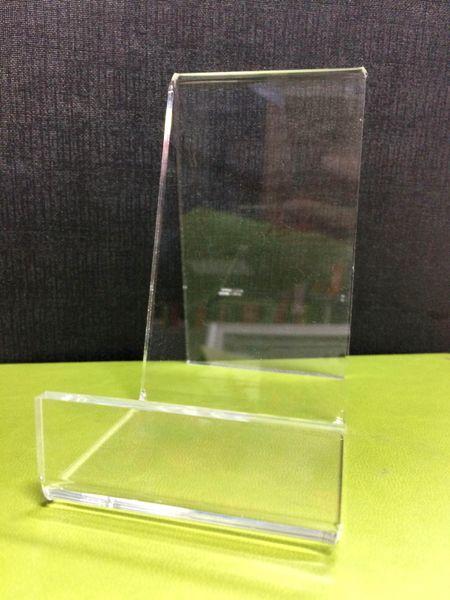 Ясная акриловая плита дисплей стенд упакован блюдо люсита бытовые электронные приборы отображения