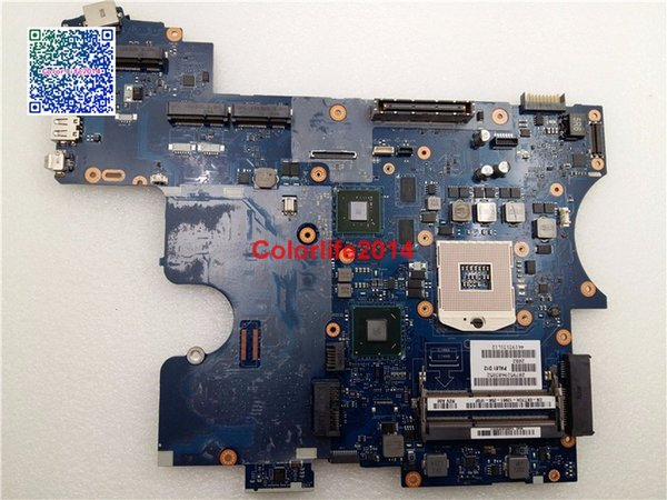 LA-6561P X7TCH CN-0X7TCH For DELL Latitude E6520 Motherboard with Discrete Graphics Card N12P-NS2-S-A1 Fully tested & Working perfect