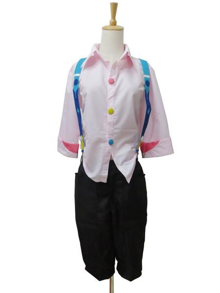Kukucos Summer Suit Tokyo Ghoul Juuzou Suzuya Bell Shirt Pants Cosplay Costume Unisex Size Fresh Concise Feeling