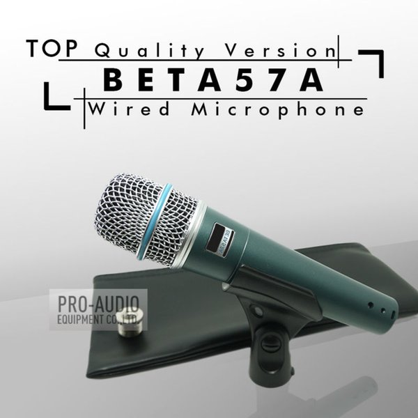 Kostenloser Versand! Hochwertige Version BETA57 Professional BETA57A Dynamisches Handmikrofon mit Supernierencharakteristik Beta 57A 57 A Mic