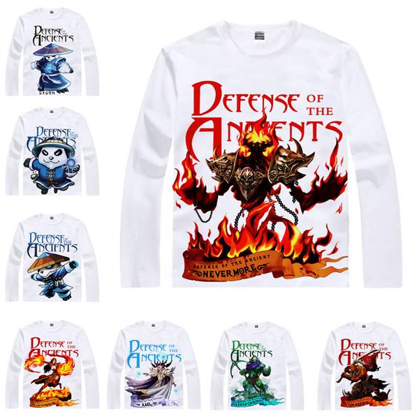 Anime Shirt DOTA2 DOTA 2 T Shirts Multi Style Long Sleeve Shadow Fiend  Storm Spirit Cosplay Motivs Hentai Shirts Ot Shirts Best Designer T Shirts  From