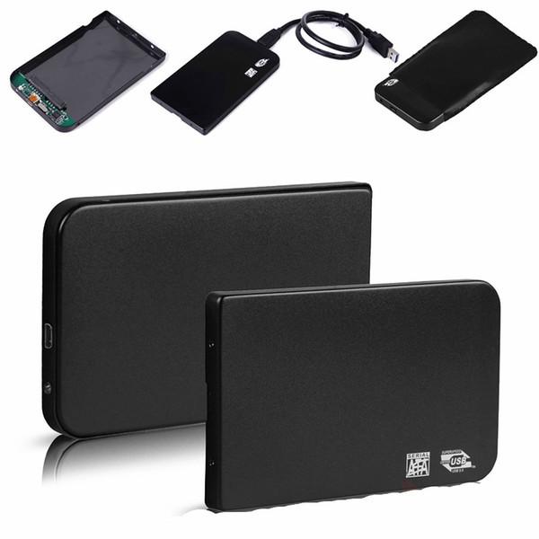 Wholesale- Alloggiamento per disco rigido esterno per dischi rigidi USB 3.0 SATA HDD da 2,5