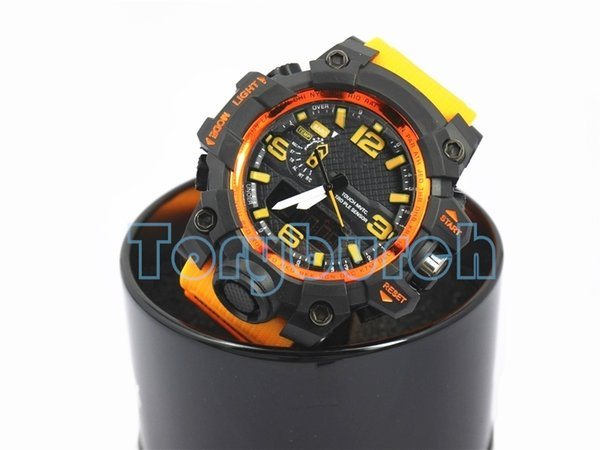 New shock relogio GWG men's sports watches with box, LED wristwatch, military watch, good gift for men & boy, dropship