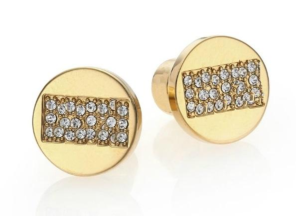 best selling New York Fashion Tone Letters stud earrings Fashion brand jewelry for women girls Silver Gold Rose Gold