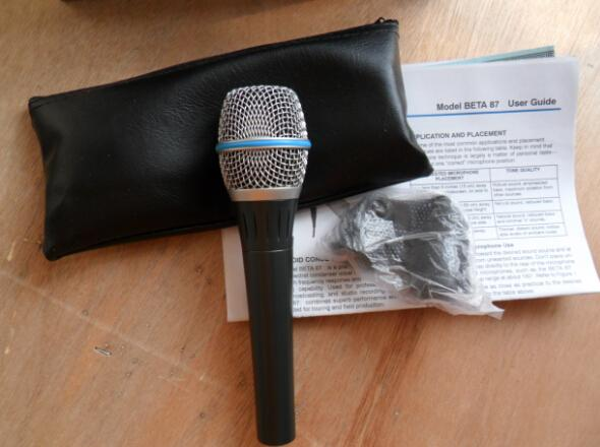 6PCS High quality version Beta 87A Beta87A High-Quality! Clear Sound Handheld Karaoke Microphone Mike