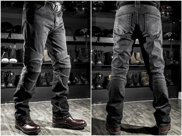 top popular 2017 Wholesale price Komine jeans motorcycle jeans drop resistance slim denim jeans automobile Komine race pants motorcycle pants plus size 2019