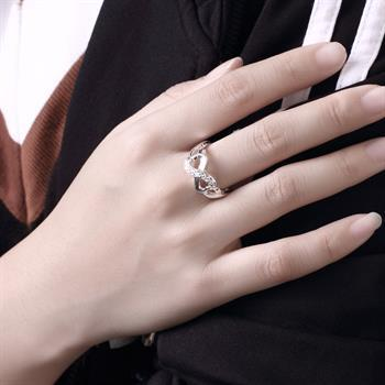 top popular Wholesale - Retail lowest price Christmas gift, free shipping, new 925 silver fashion Ring R49 2020