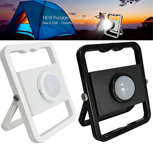 Portable Smart Charging Lighting 10W 5V Outdoor Portable Emergency flood light Digital Charging for camping Traveling SOS