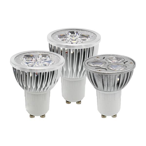 1 pz / lotto NO dimmerabile GU10 E27 MR16 E14 3W 9W 12W 15W Lampadina LED ad alta potenza Faretto Faretto Lampada da incasso Illuminazione a LED