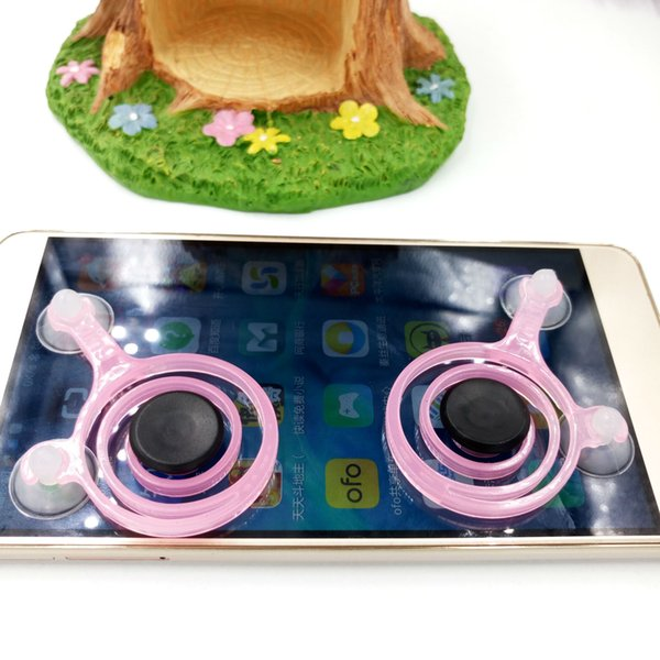 Mobile Joysticks Mini Screen Device Touch Screen Joystick Controller For Smartphone Tablet Arcade Games 2pcs/Lot Cell Phone Pad