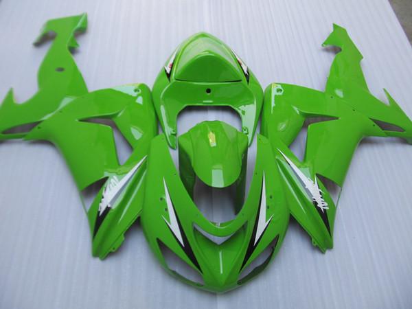 Kawasaki Ninja ZX10R 2006 2007 yeşil grenaj için enjeksiyon kalıp yüksek kaliteli kaporta kiti ZX10R 06 07 OT21 set