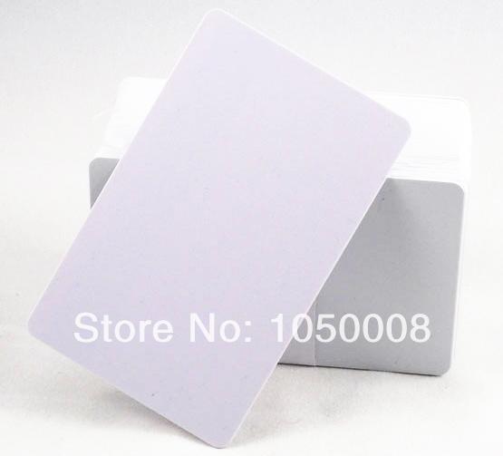 Wholesale- 100pcs/lot Inkjet Print blank PVC printable card for Espon printer, Canon printer