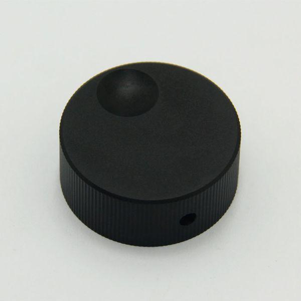 free shipping 32*13mm black hifi electronic potentiometer knob DIY Digital part Sound volume switch knob Tube Amplifier knob