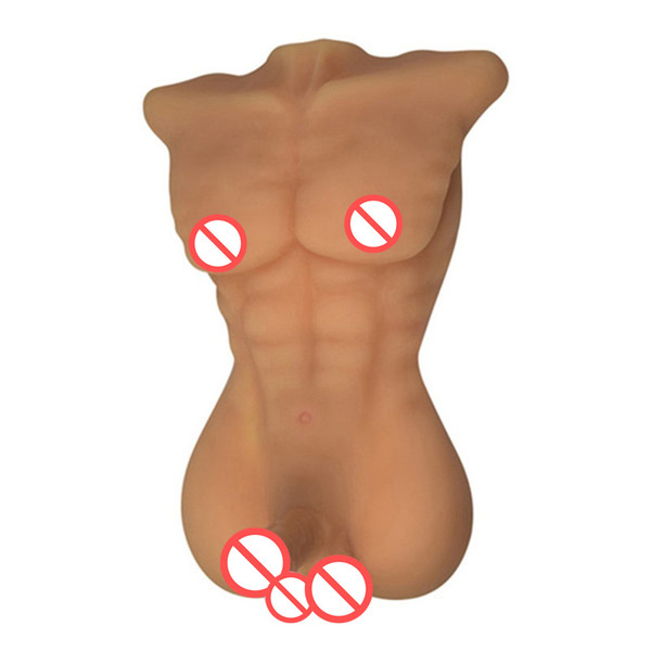 Full Silicone Sex Doll Male Doll for Women Gay Sex Products with Big Dildo and Asshole Love Doll for Women