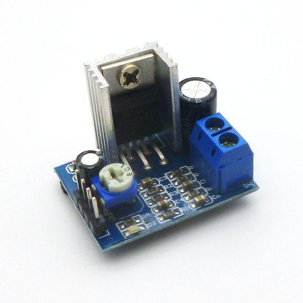 DIY Kit Parts 6-12V Single Power Supply Audio Amplifier Board Module TDA2030A Module TDA2030