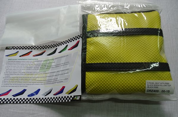 Fine 2019 New Soft Rib Grip Pleated Seat Cover Mixed Wholesale Yellow And Black Racing Parts For Suzuki Drz400 Rmz250 Rmz450 Rm85 Parts From Jacky16 Cjindustries Chair Design For Home Cjindustriesco