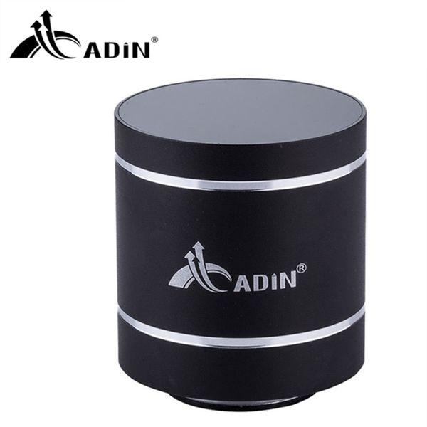 All'ingrosso-ADIN Metallo Bluetooth Speaker 10W Mini altoparlante di vibrazione Mobile Computer wireless Piccolo subwoofer Altoparlante audio Altavoz Bluetooth