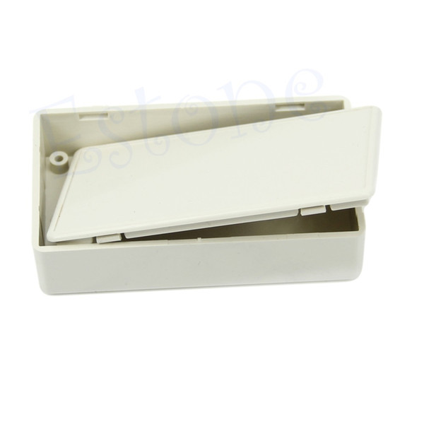 "Wholesale- Plastic Project Electronics Box Enclosure Case DIY New 3.34""L x 1.96""W x 0.83""H Drop shipping"