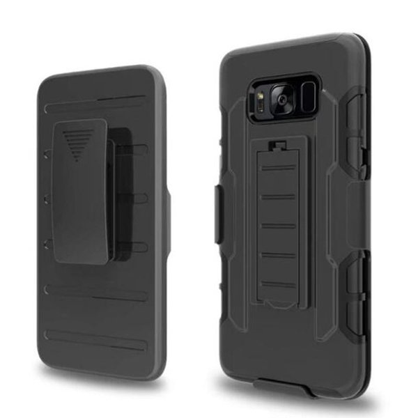 Future Armor Rugged Defender Holster Belt Clip Protection Hybrid Kickstand Case for iphone 7 plus 6 6S 5S Galaxy S8 plus S7 edge