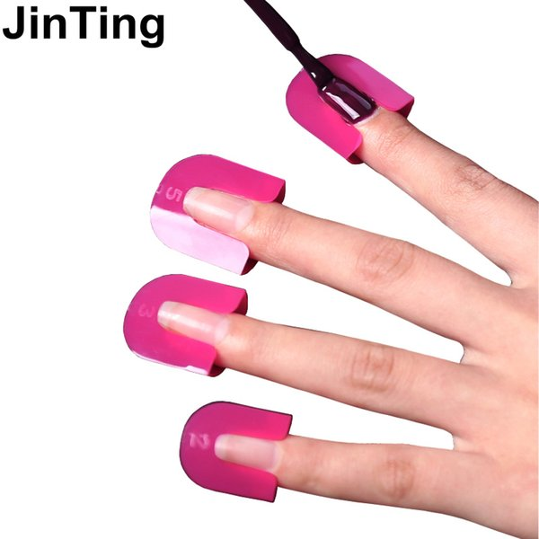 Wholesale Professional Pink French Nail Manicure Sticker Tips ...