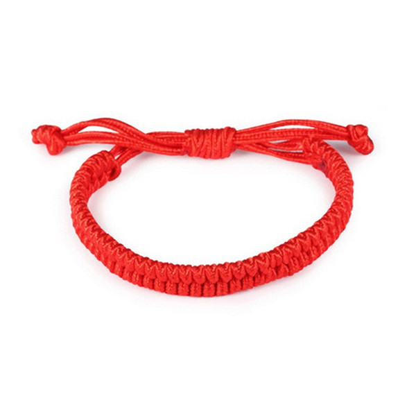 top popular Charms Good Luck Red String of Fate Rope Bracelets Friendship Bangle Fashion Handmade Cord Lucky Kabbalah Bracelet Jewelry Gift 2019