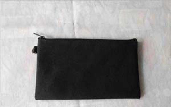 black/black zipper