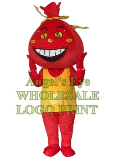 money bag mascot costume bank custom adult size cartoon character cosply carnival costume 3244