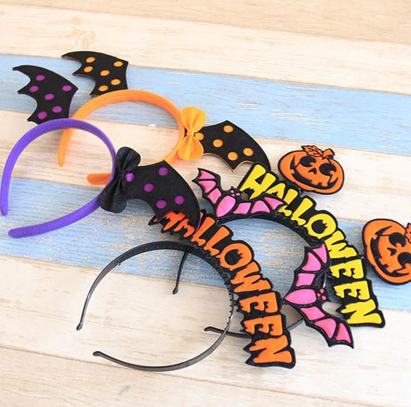 Niños Calabaza Fiesta de Halloween Cabeza decorativa Hebilla Cabello Aro Para Cosplay Party y Masquerade 8