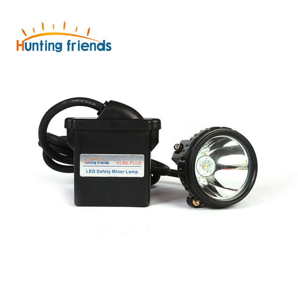 New 1+6 LED Safety Miner Lamp KL8M.Plus Professional Explosion Proof Cap Lamp Waterproof Headlight for Working Outdoor Sports
