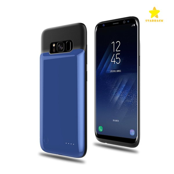 4000mah Power Bank Phone Charger Battery Case Slim External Battery Cover for Samsung S8 S8 Plus with Retail Package