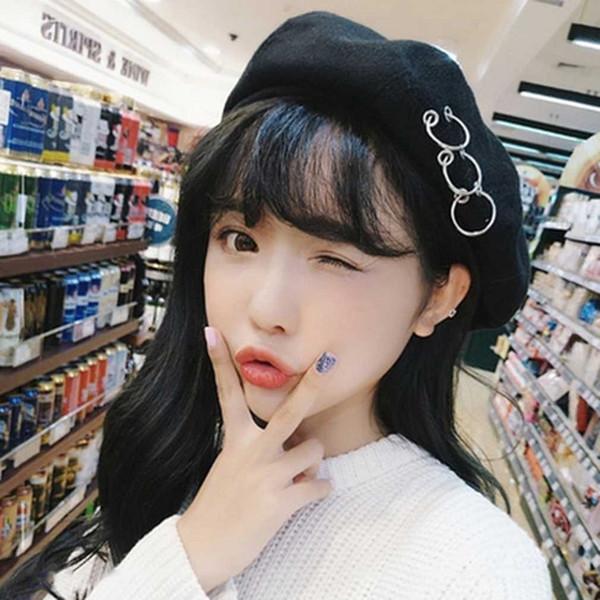 Gros-Confortable Hiver Automne Style Coréen Hommes Femmes Unisexe Beret Cap Casual chapeau top qualité 2016 Vente Chaude