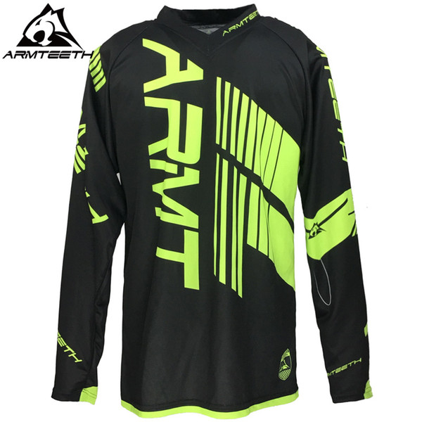 2017 Armteeth Venta Caliente Motocross Jerseys Dirt Bike Ciclismo Bicicleta MTB Downhill Shirts Motorcycle Racing Jersey Talla S-5XL