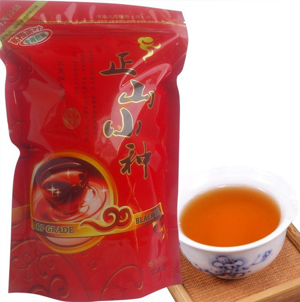 best selling 2019 good tea china Free shipping Top Class Lapsang Souchong 200g,Super Wuyi Organic Black Tea,,+gift