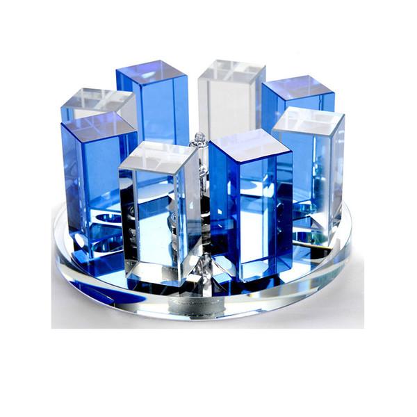 Blue-flush