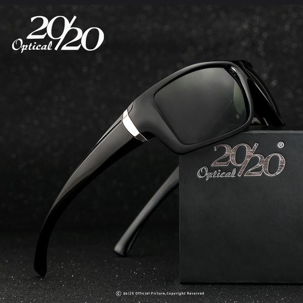 Wholesale-Classic Men Sunglasses Black Polarized Square Male Sun Glasses Shade Driving Eyewear Oculos Gafas De Sol PL48