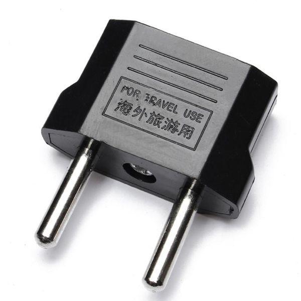 Expédition rapide USA USA À Plug UE Adaptateur De Voyage Chargeur Adaptador Convertisseur Universel AC Power Prise Électrique