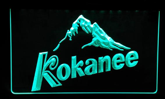 LS148-g Kokanee Beer Bar Pub Club Neon Light Sign Decor Free Shipping Dropshipping Wholesale 6 colors to choose